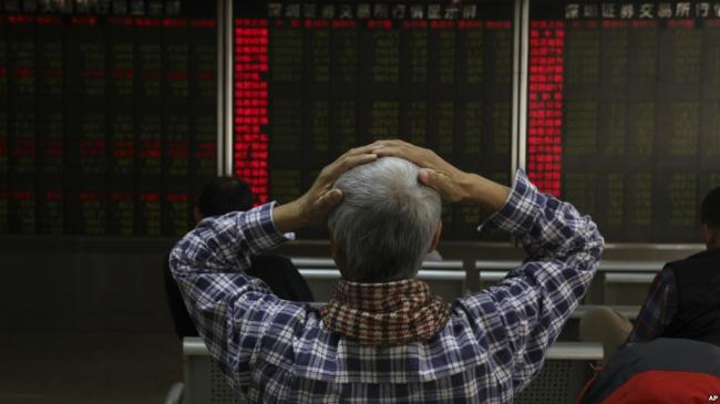 全球最差 中国股市一年蒸发2.4万亿美元