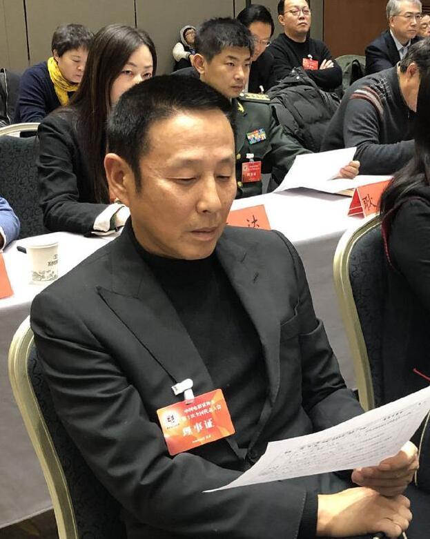 陈道明当选电影家协会主席 吴京等当选副主席