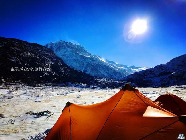 冰峰林立的青藏 探险者的理想处女地