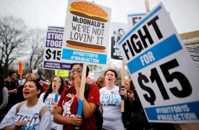 全美最低时要提高了 民主党推涨薪法案