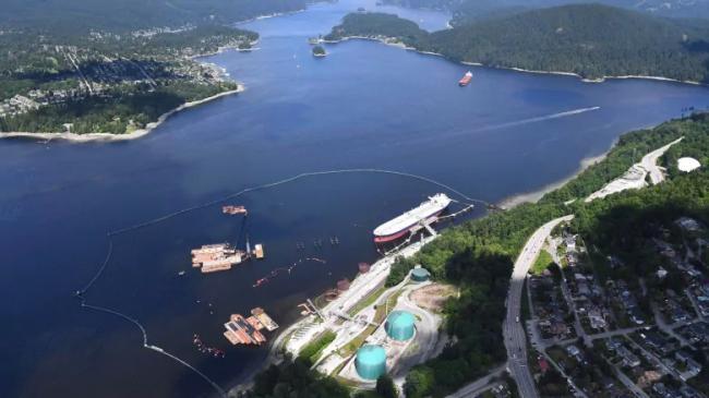 加拿大能源部:不会停止扩建横山油管的运油码头