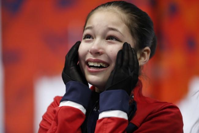 13岁华裔夺美国花滑冠军  史上最年轻