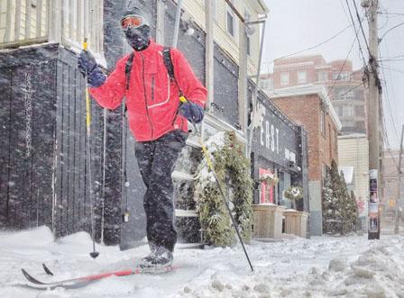 冬季风暴袭击全加 邮务公司暂停或减缓邮件递送