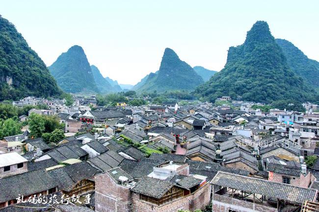 广西最低调的古镇 美景不输丽江