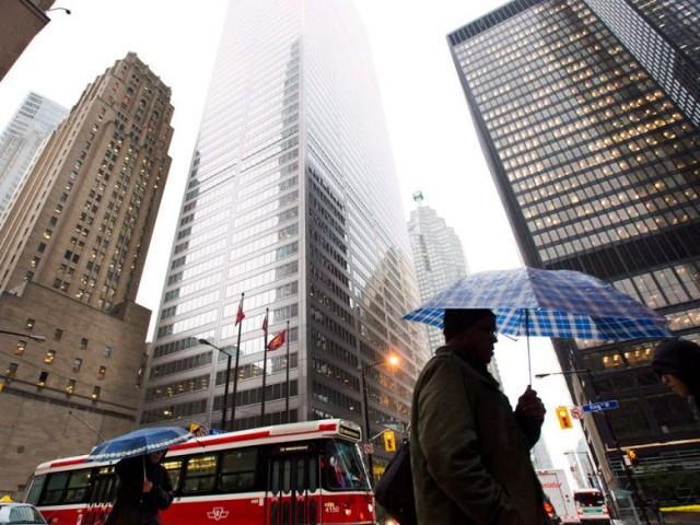 放贷频率放缓 加拿大各大银行营收恐下降