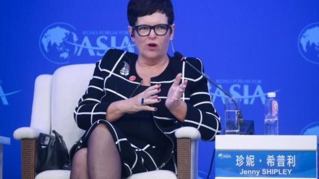 新西兰前总理为中国党报撰文?她回应了
