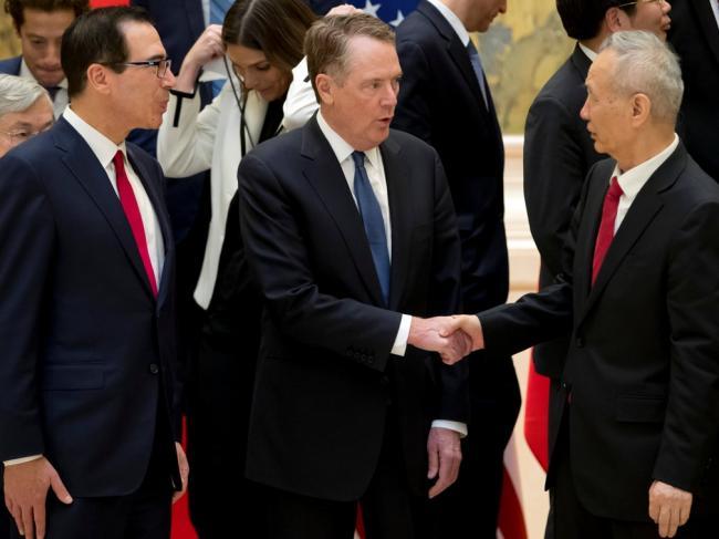 刘鹤谈判再迈一步 中美贸易协议雏形显现
