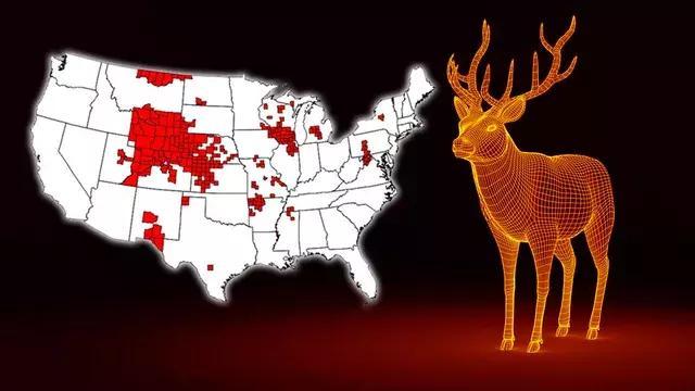 """""""丧尸鹿""""美国遍地跑 人类末日要来?真相是"""