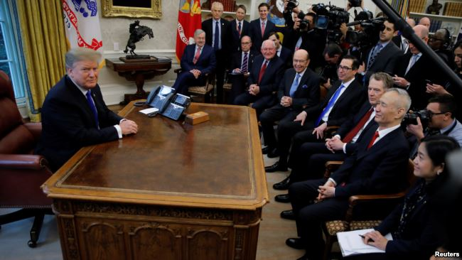 川普在白宮會見劉鶴 釋放明確信息