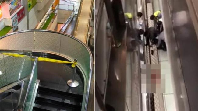恐怖:华裔男将妻子扔下4楼,纵身跃下