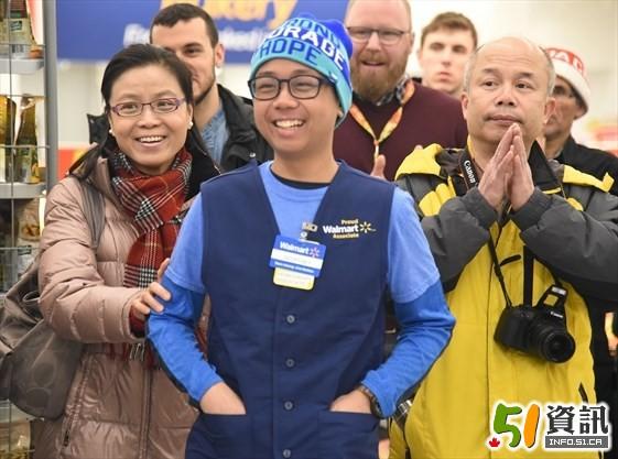 15岁华裔少年战胜癌魔重返校园