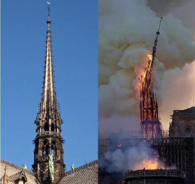 针对基督徒?巴黎圣母院火灾巧合引遐想