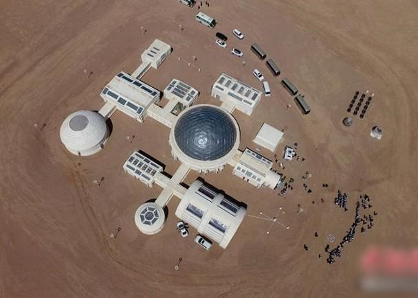 中国首个火星模拟生存基地在甘肃金昌正式开营