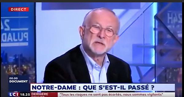 本杰明·穆栋接受法国电视台采访。视频截图
