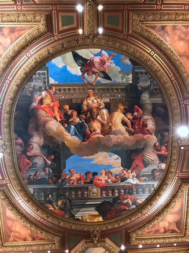 威尼斯人酒店壁画.JPG