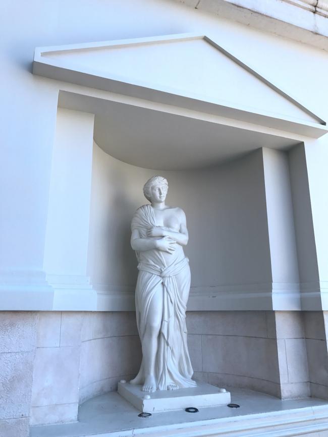 威尼斯人酒店的雕像.JPG