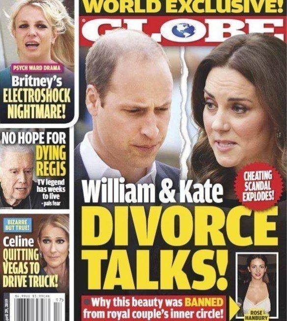威廉王子被曝与凯特遇婚变危机 已在找离婚律师