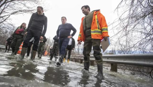 洪灾:魁省2300座房子被淹 1500人撤离
