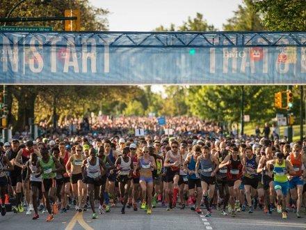 2019BMO溫哥華馬拉松比賽今日舉行