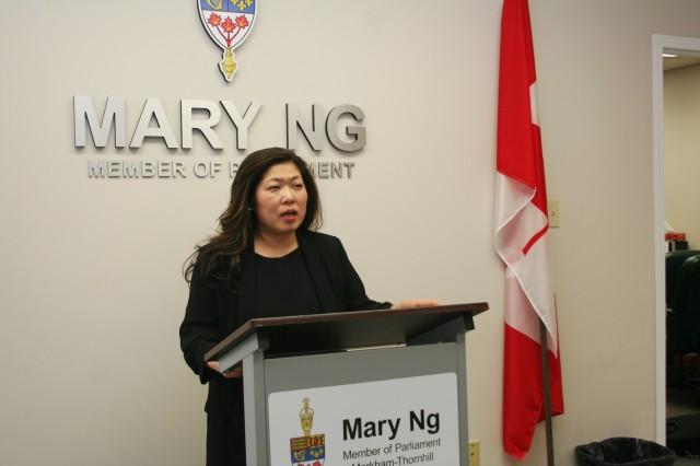 加拿大华裔部长批反对党政策鲁莽 危害中加关系