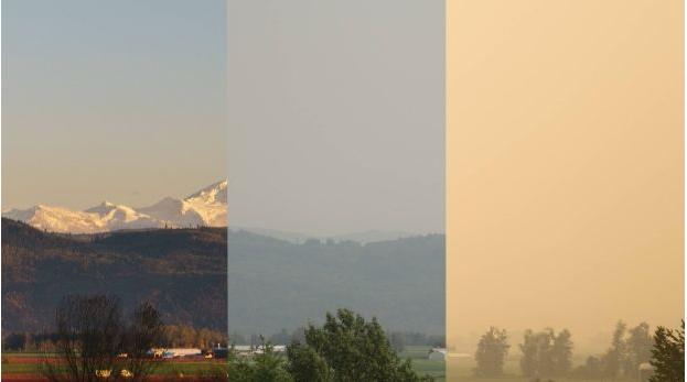 """大温""""雾霾""""又要来,山火又起!居民紧急疏散"""