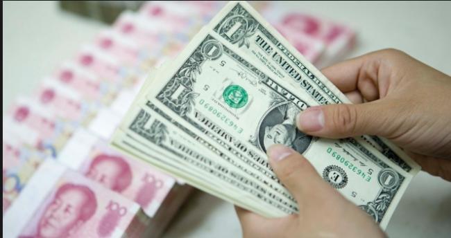 離岸人民幣兌美元跌破6.94 去年11月底以來新低