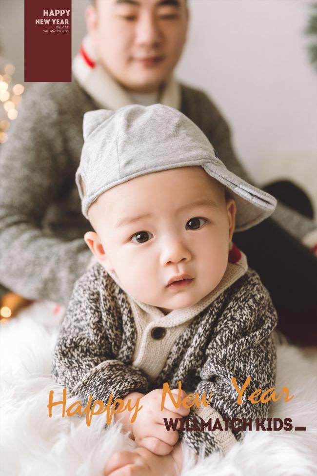 28号萌宝|不哭不闹 大眼萌娃,健康快乐的小暖男
