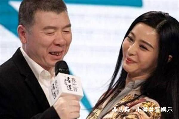 冯小刚和谁拍照都一脸冷漠 除了她