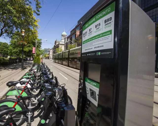 多伦多共享单车亏惨了,政府千万资助打水漂