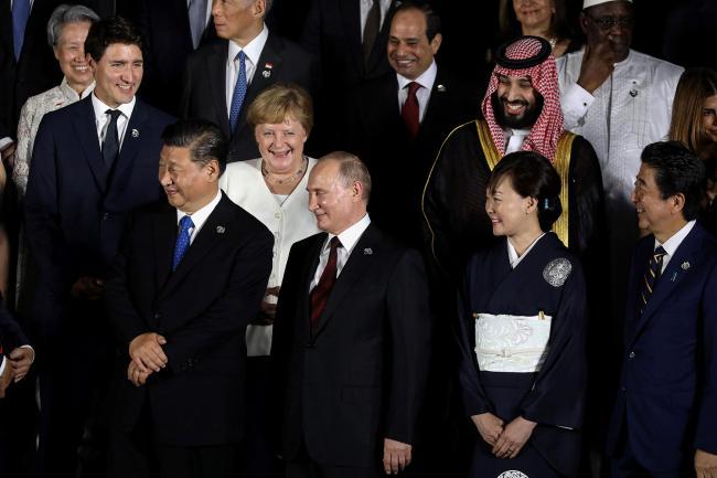 G20峰会:加拿大敦促中国释放被捕公民