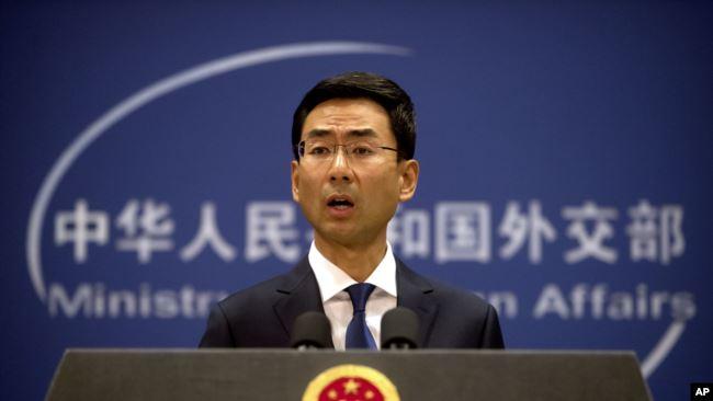 中国称将不与向台湾销售武器的美国公司合作