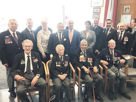 退伍军人组织100周年 二战老兵出席