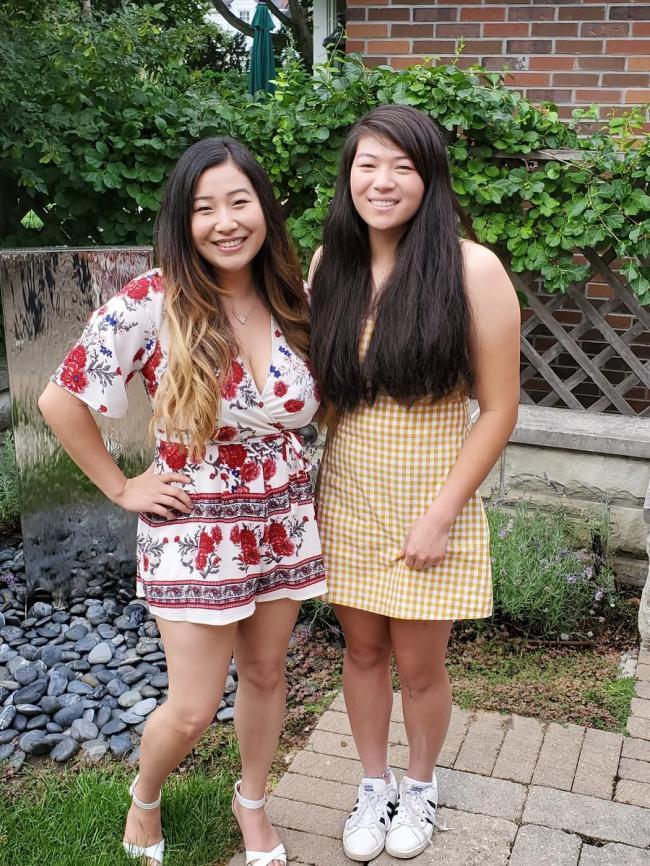 失散中国姐妹 在加拿大神奇相认