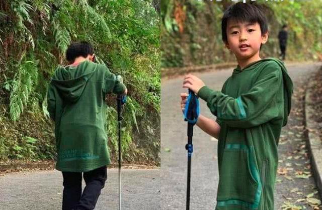 他是谢霆锋的儿子如今12岁了 弟弟长得像张柏芝