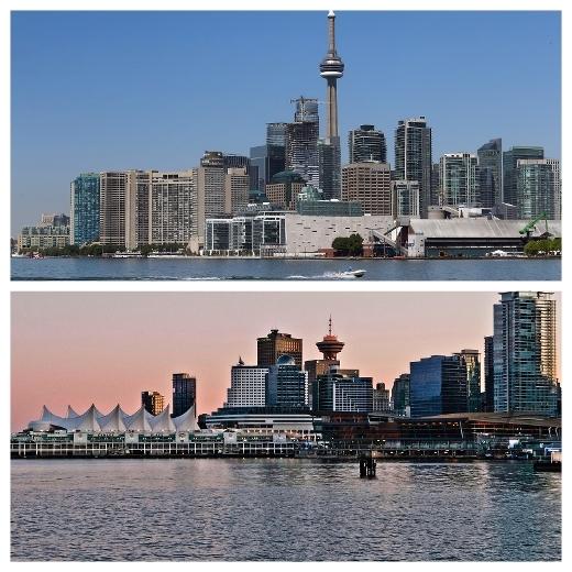 温哥华和多伦多是好哥们?开什么玩笑?