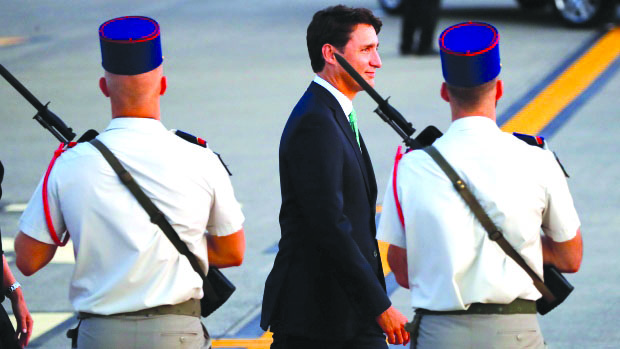 加拿大�理杜�多抵法出席G7峰��