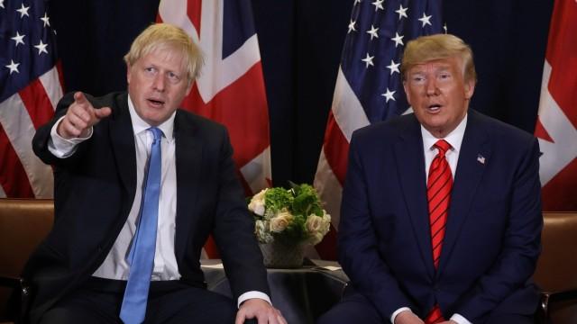 川普与约翰逊:两个金发狂人 同一政治命运?