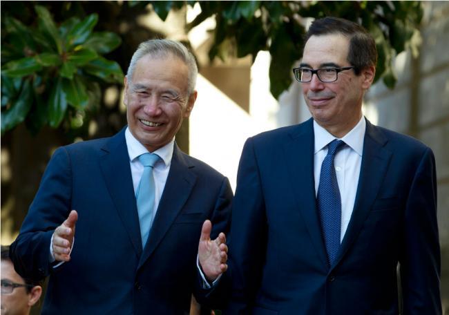 """中国官媒:""""部分""""协议对两国有益"""