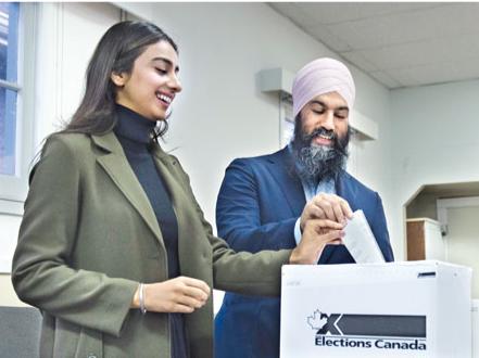 NDP民望趋升 自由党悬了 特鲁多紧急呼吁