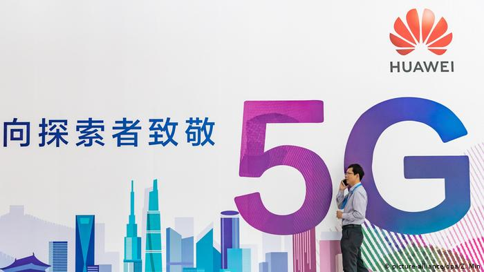 China Huawei 5G Netz (picture-alliance/dpa/Z. Min)